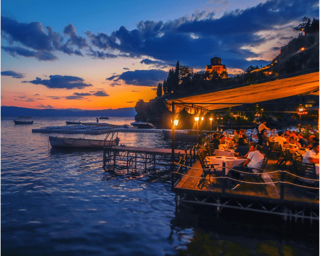 Macedonia - Ohrid - Cafe - Canva