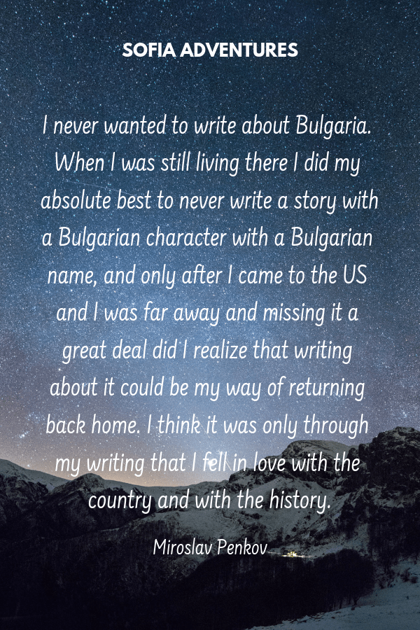 Penkov Bulgaria Quote