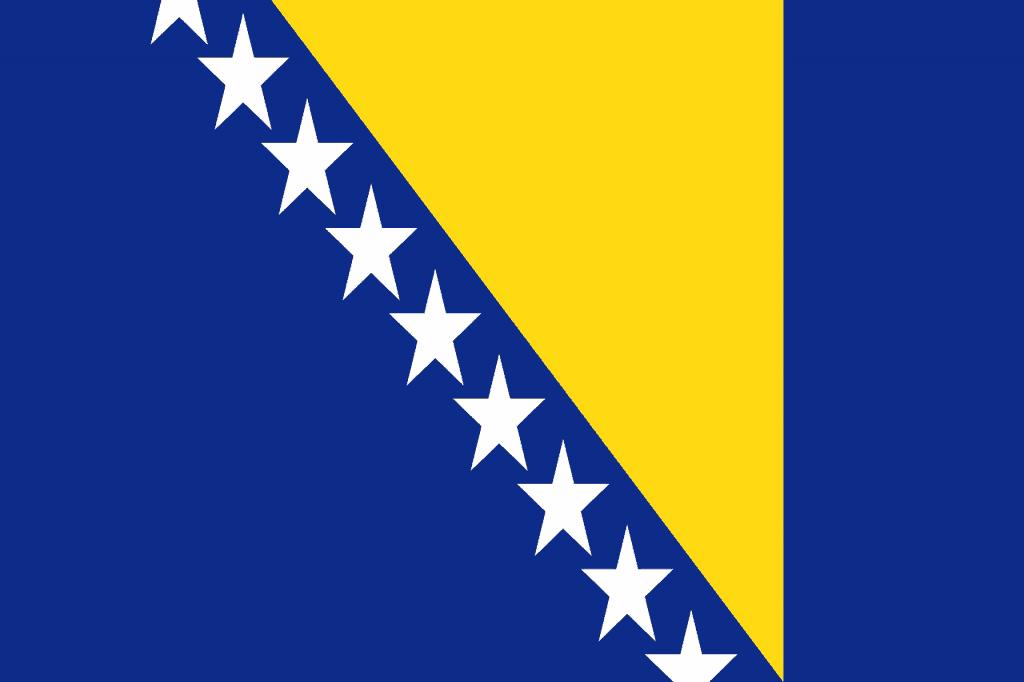 Bosnia Flag - Pixabay