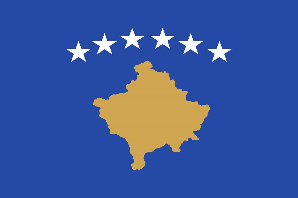 Kosovo Flag - Pixabay