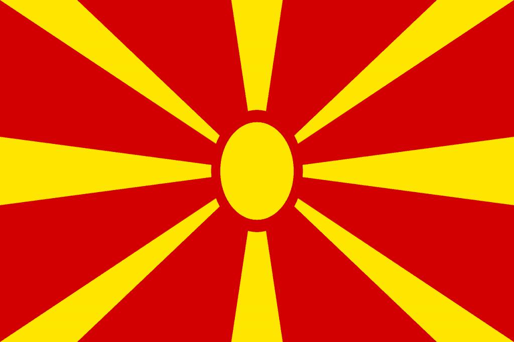 Macedonia Flag - Pixabay