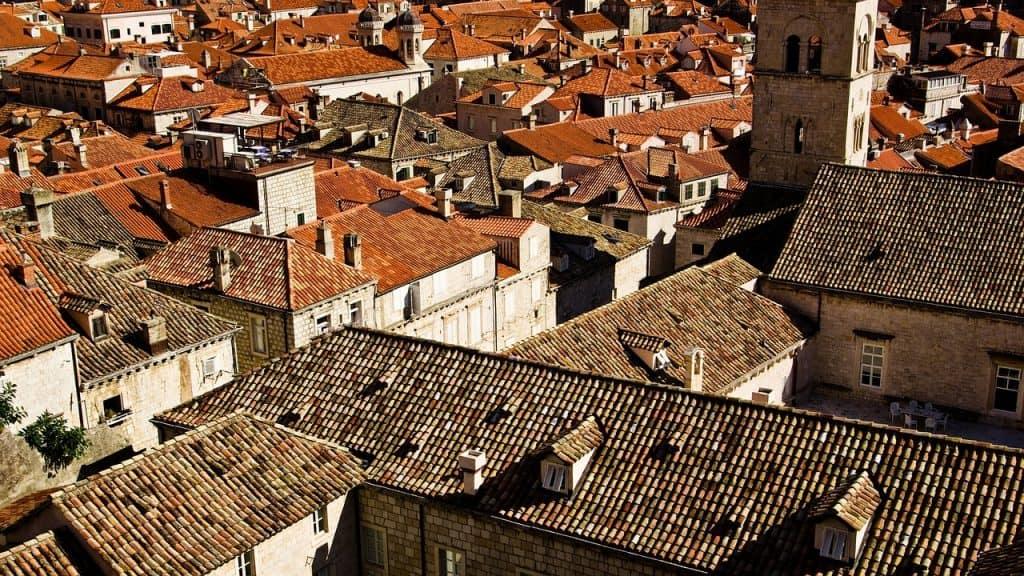 Croatia - Dubrovnik - Rooftops - Pixabay