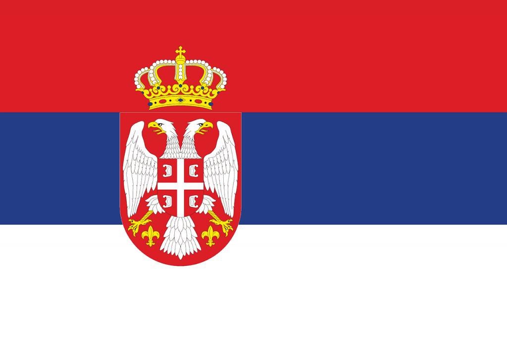 Serbia Flag - Pixabay