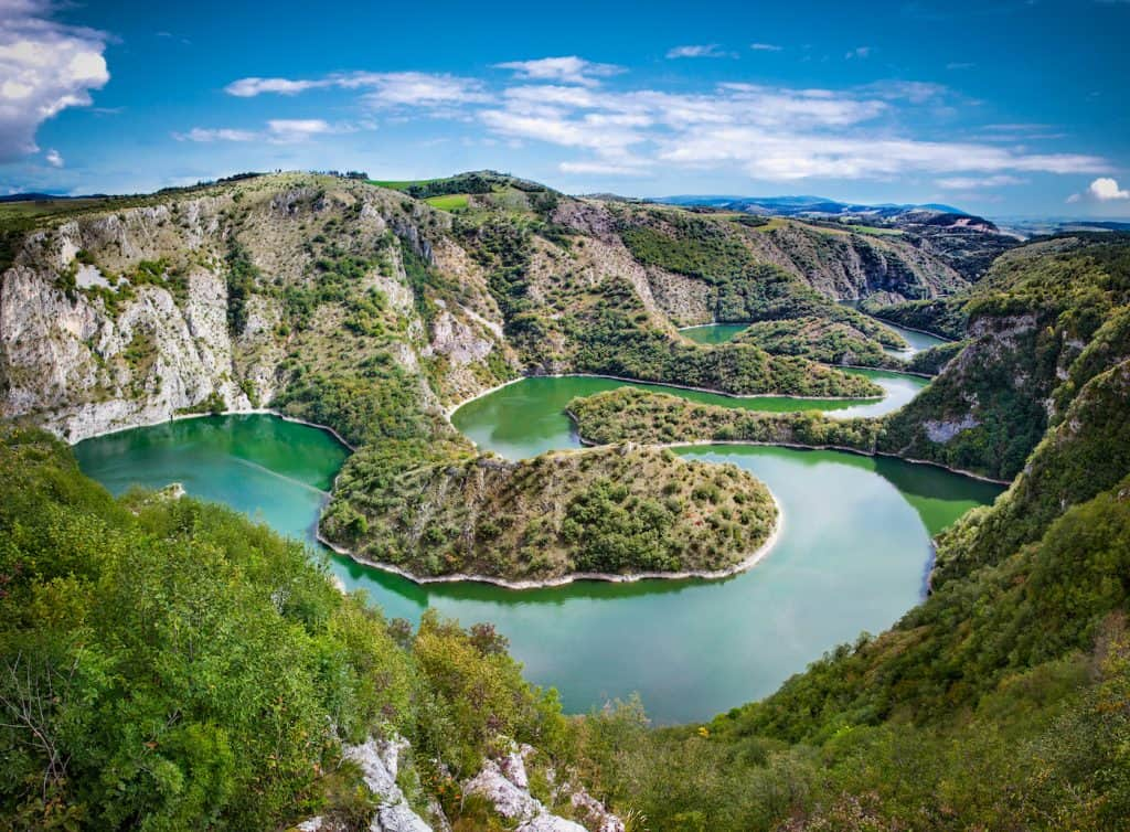 Uvac Canyon Meanders - Serbia - Shutterstock