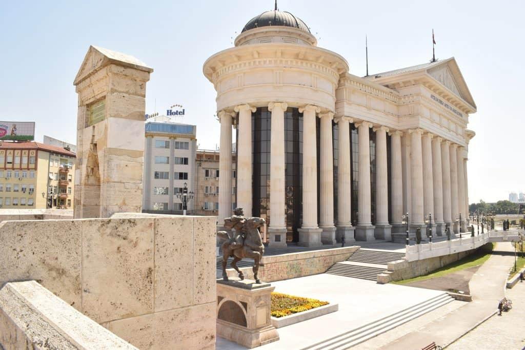 Macedonia - Skopje - Main Square - Pixabay