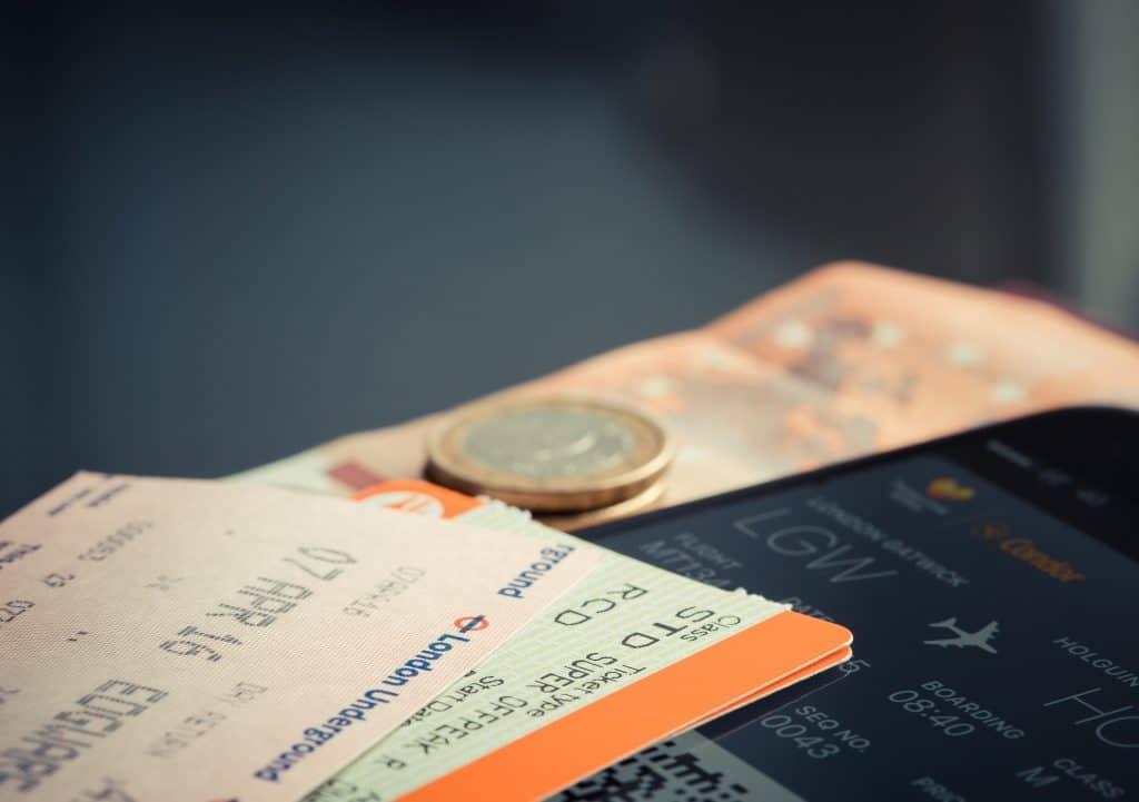 Plane Ticket Euro - Pixabay
