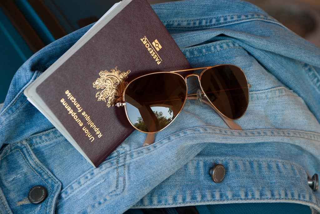 Passport and Sunglasses - Pixabay