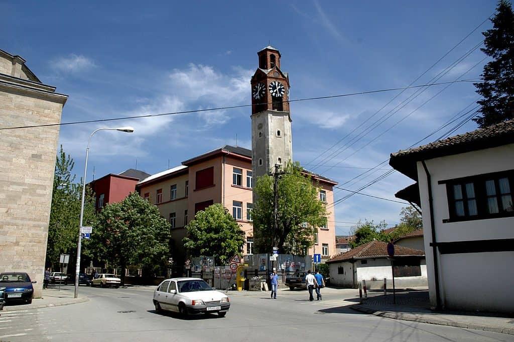 Kosovo - Pristina - Clock Tower - Wikimedia Commons