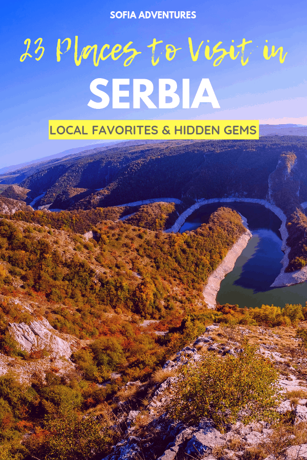 23 Jaw-Dropping Places to Visit in Serbia