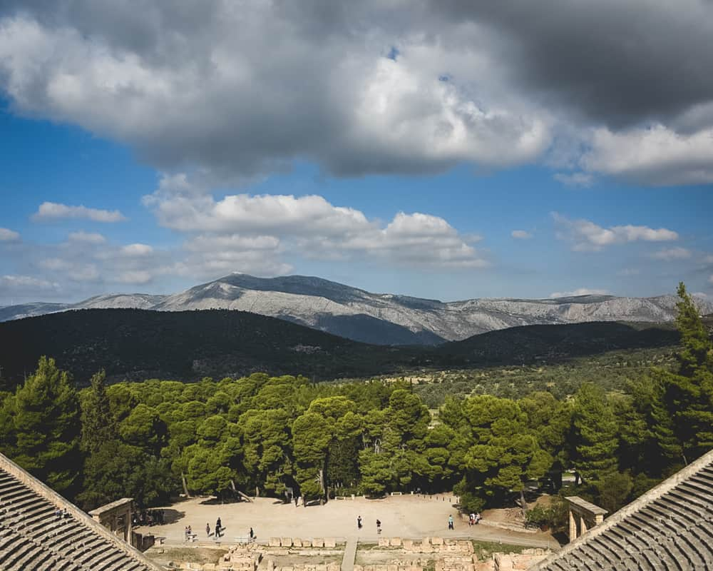 Greece - Epidaurus - Theater