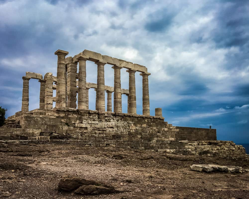 Greece - Cape Sounion - Temple of Poseidon