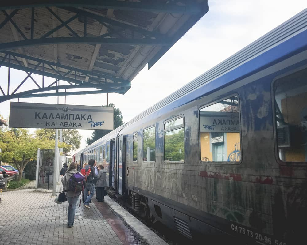 Greece - Kalabaka Train Station