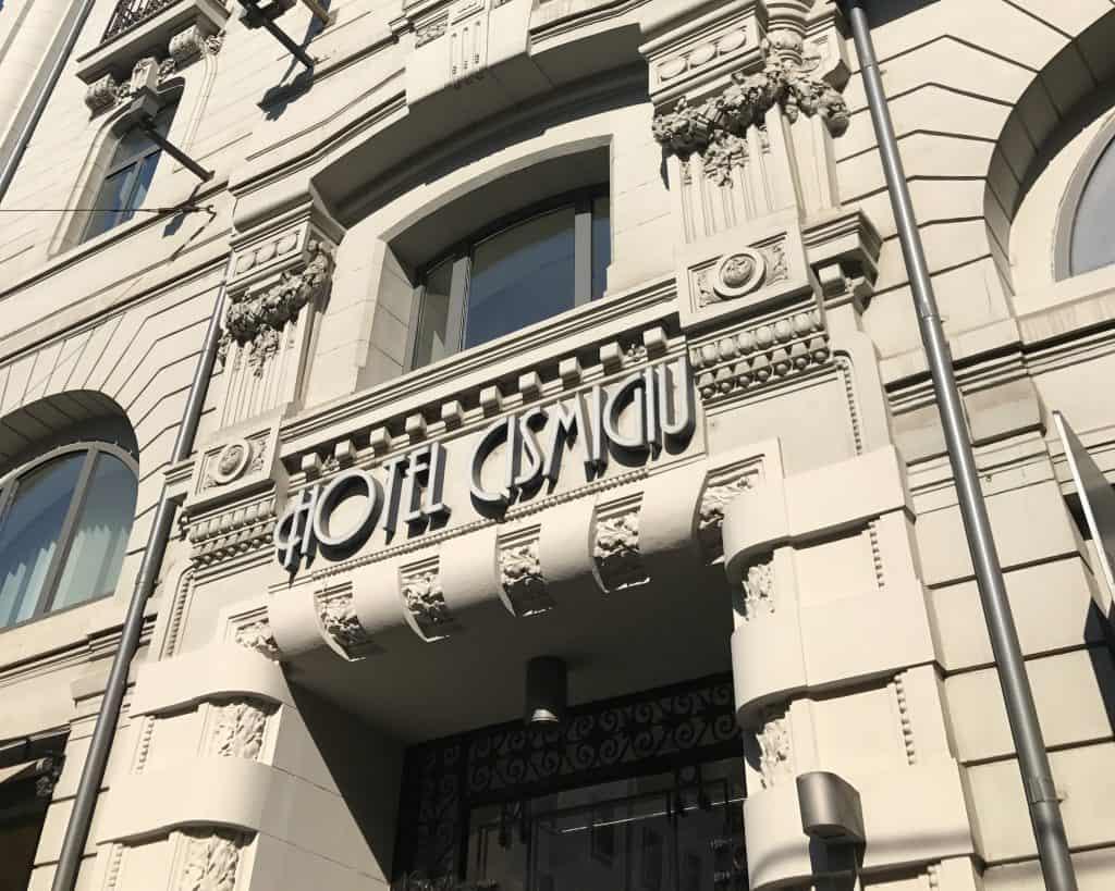 Romania - Bucharest - Hotel Cismigiu