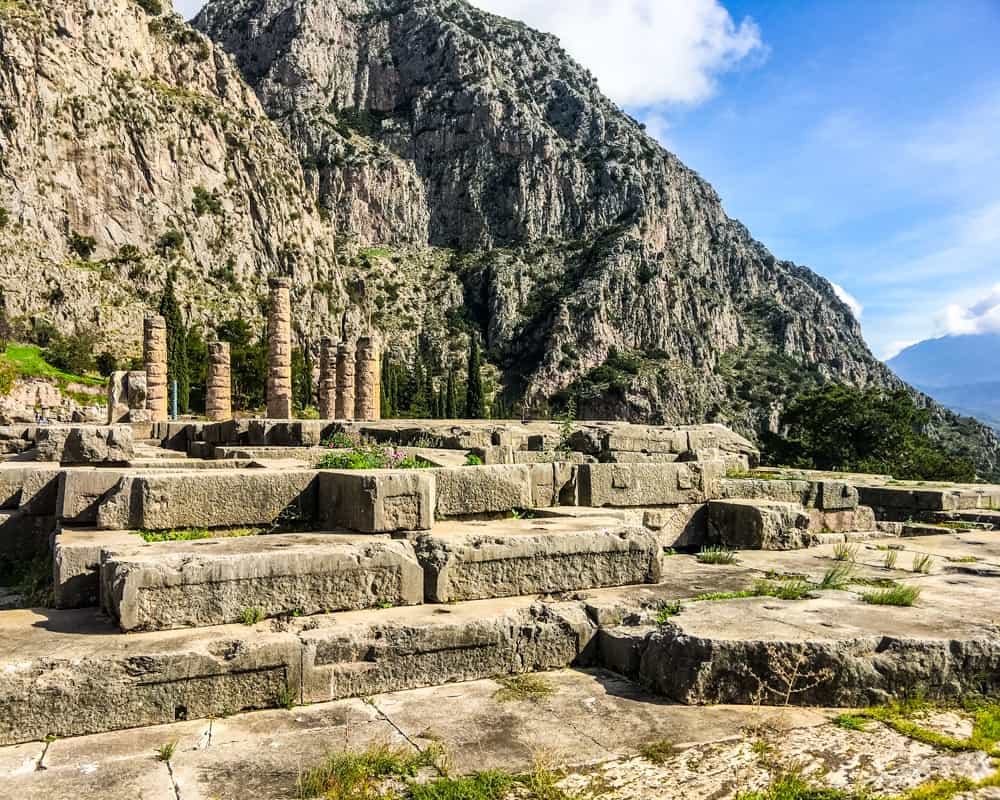 Greece - Delphi - Temple