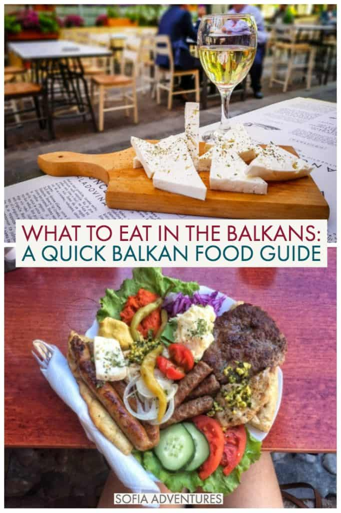 Wondering what to eat in the Balkans? Here is our Balkan food guide, covering everything from Greek and Turkish cuisines you may be familiar with to more obscure cuisines like Bulgarian, Croatian, and Bosnian!