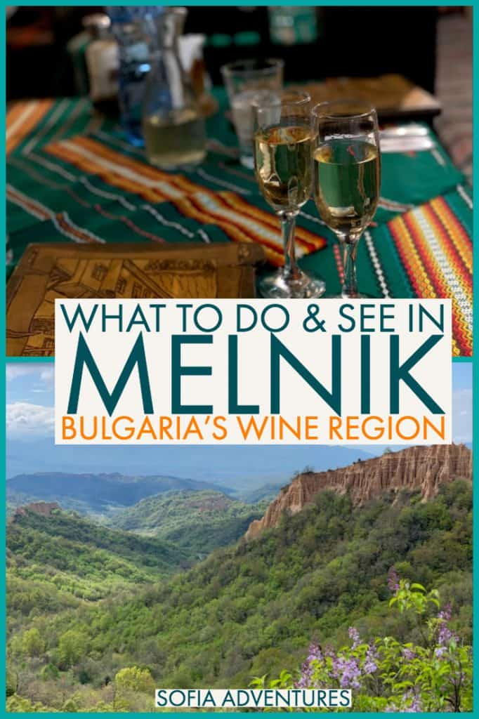 Planning a trip to Melnik, Bulgaria? This small town in Bulgaria is known for the Melnik Pyramids and delicious Melnik wine. It's one of the best places to try Bulgarian wine and enjoy some of the best-priced wines in Europe! Here's a guide of all the best things to do in Melnik, from the Kordopulov House to the Rozhen Monastery to the wineries of Melnik!