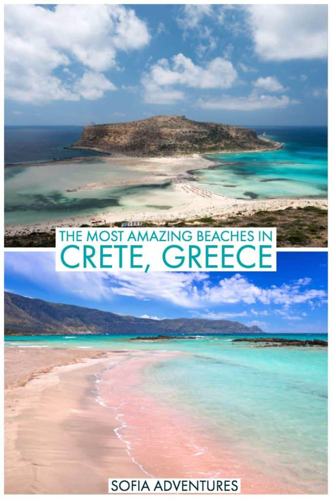 Planning a Greek beach vacation? There are some amazing beaches in Crete that are worth traveling for! Relaxing on the beaches is one of the best things to do in Crete, and you should add gems like Balos Lagoon, Elafonisi beach (Crete's pink sand beach) and Seitan Limania to your Crete itinerary. Here's all you need to plan a fantastic Cretan beach trip!