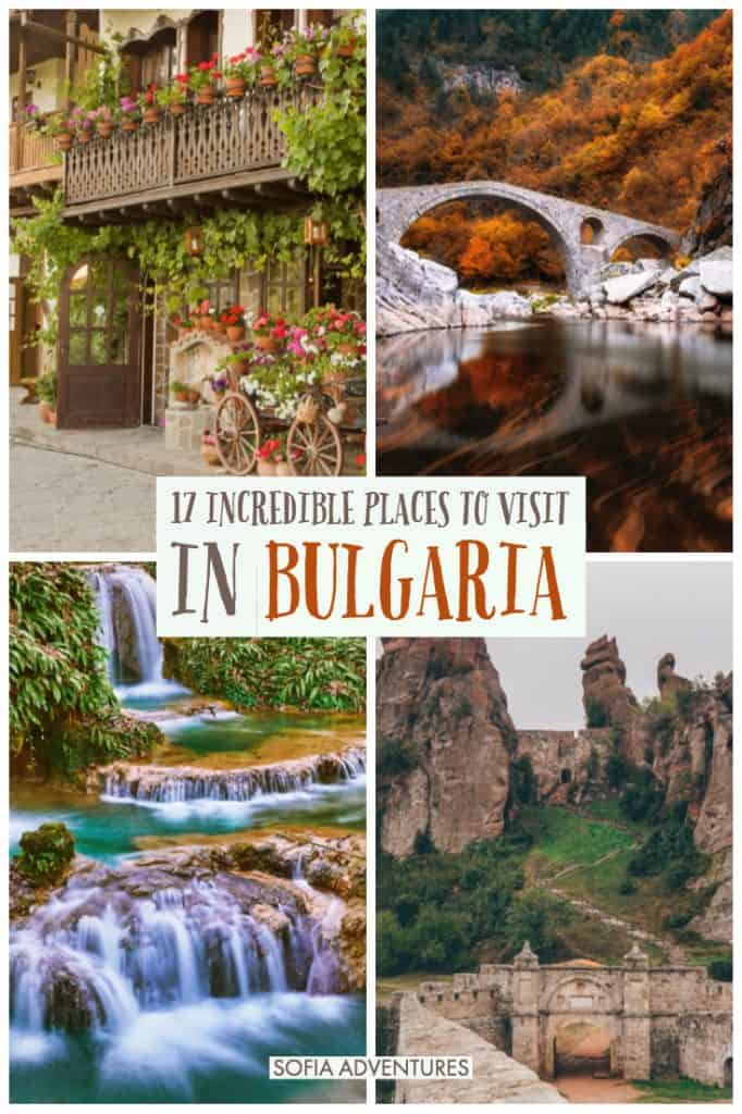 If you want to travel Bulgaria, be prepared for a country full of surprises! From the Rila Mountains to beautiful waterfalls, Ottoman bridges to traditional towns, these are all the best places to visit in Bulgaria to help you plan a memorable, off the beaten path Bulgaria itinerary that is different than the rest! Full of insider Bulgaria tips from two travel writers who have made Bulgaria their home.