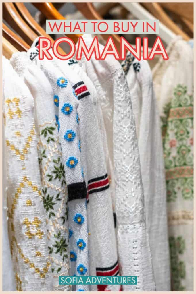 Planning to travel Romania and what to know what to buy in Romania? Here are all the best Romanian souvenirs and crafts you should consider buying on your trip. Helping you with your Romania shopping, this guide includes the best Romanian gifts and souvenirs from Romania that everyone will love!