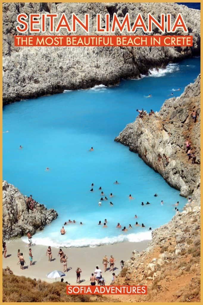 8be344fd0b6e Seitan Limania Beach  Crete s Most Gorgeous Hidden Secret - Sofia ...