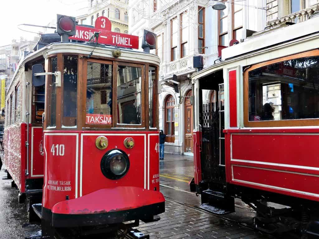 Istanbul - Turkey - trams