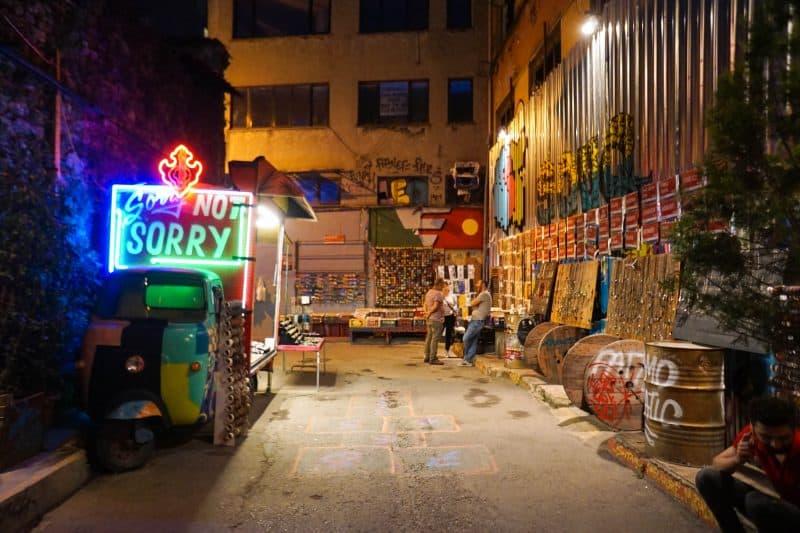 Istanbul - Turkey - Karakoy at night