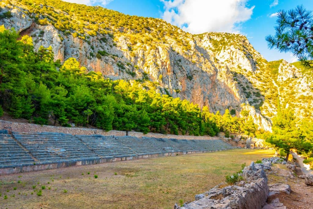 Greece - Delphi - Stadium