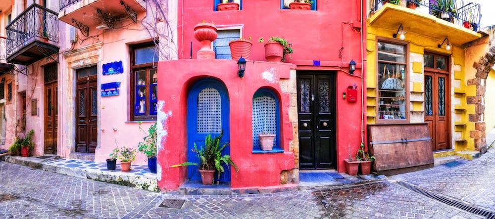 Greece - Crete - Chania - Colorful Shops