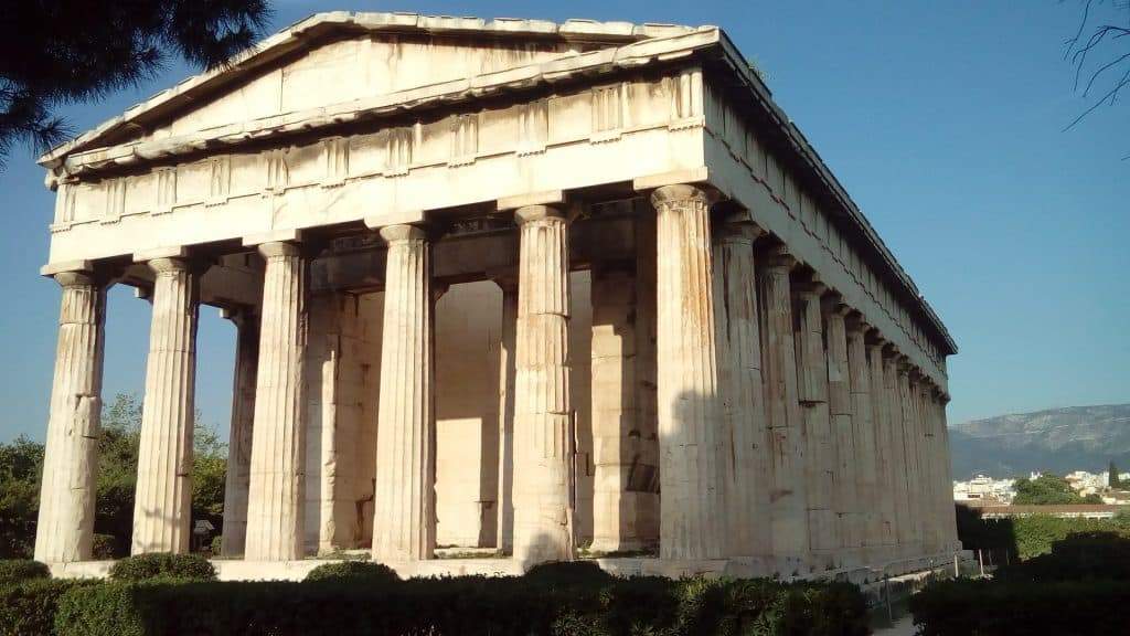 Greece - Athens - Temple of Hephaestus - Thissio