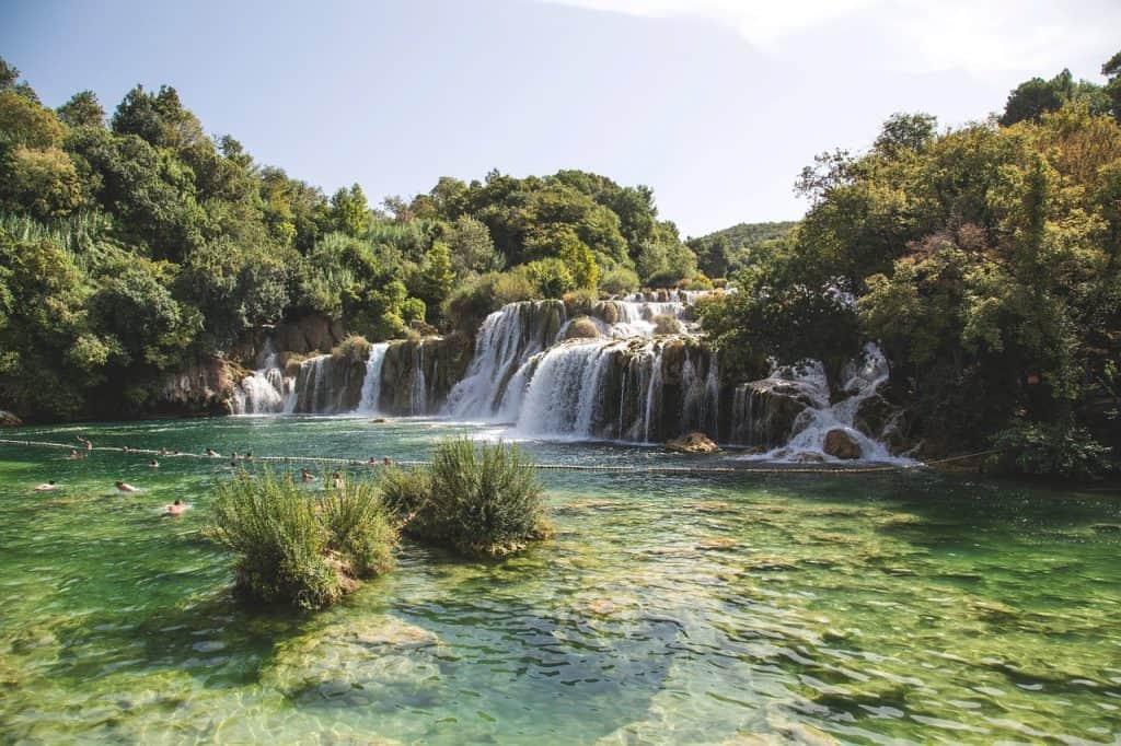Krka Waterfall - Croatia - Pixabay