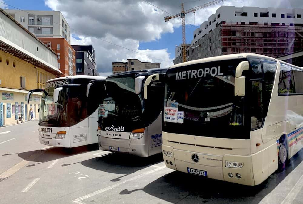 How To Easily Get from Tirana to Prishtina By Bus