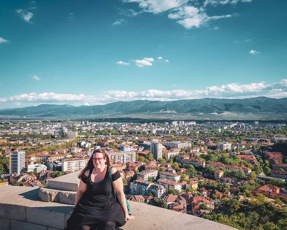 Bulgaria - Plovdiv - Alyosha Monument Hike View Stephanie