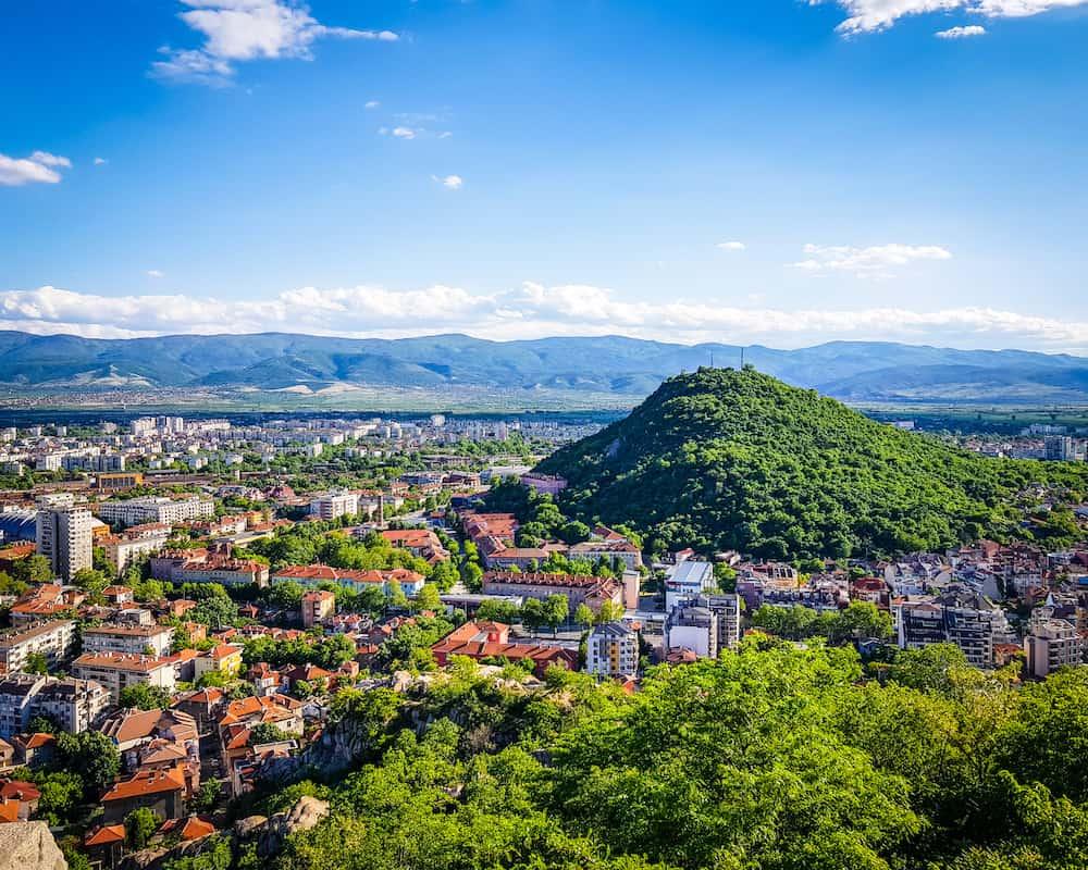 Bulgaria - Plovdiv - Alyosha Monument Hike View