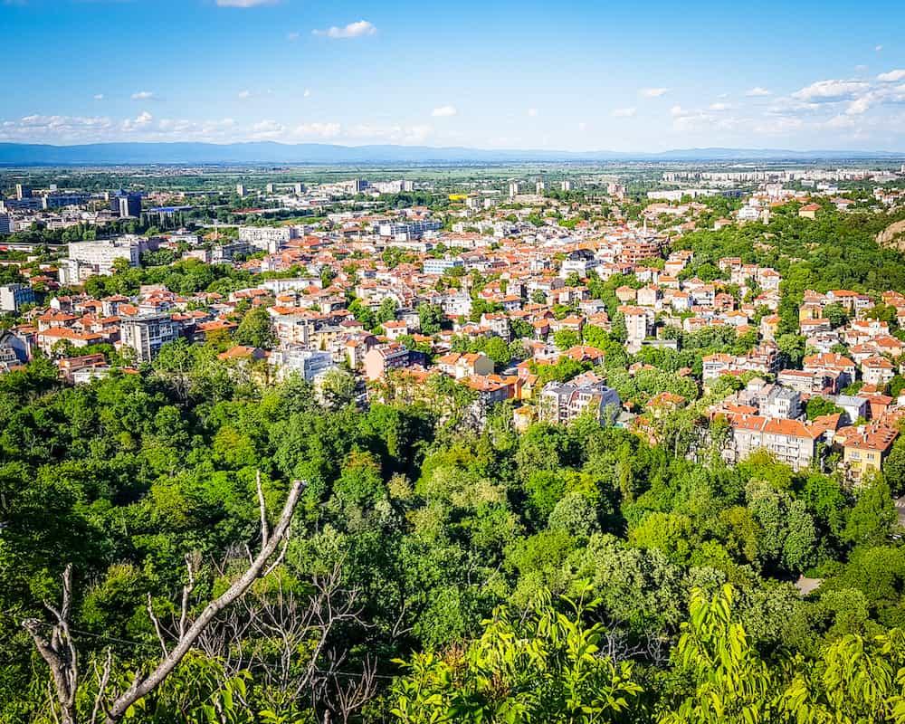 Bulgaria - Plovdiv - Alyosha Monument View