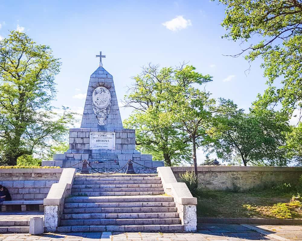 Bulgaria - Plovdiv - Alyosha Monument