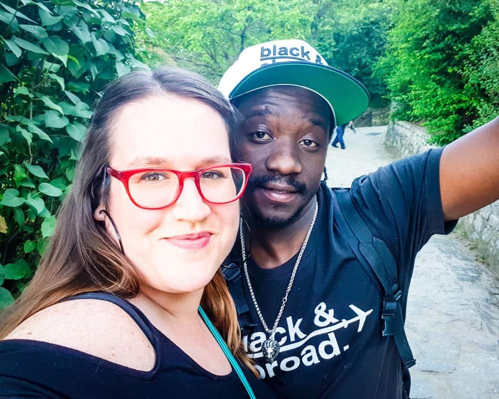 Bulgaria - Plovdiv - Alyosha Monument Hike Selfie