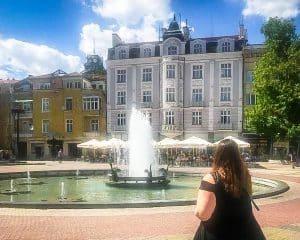 Bulgaria - Plovdiv - Fountain Stephanie