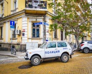 Bulgaria - Sofia - Police Car