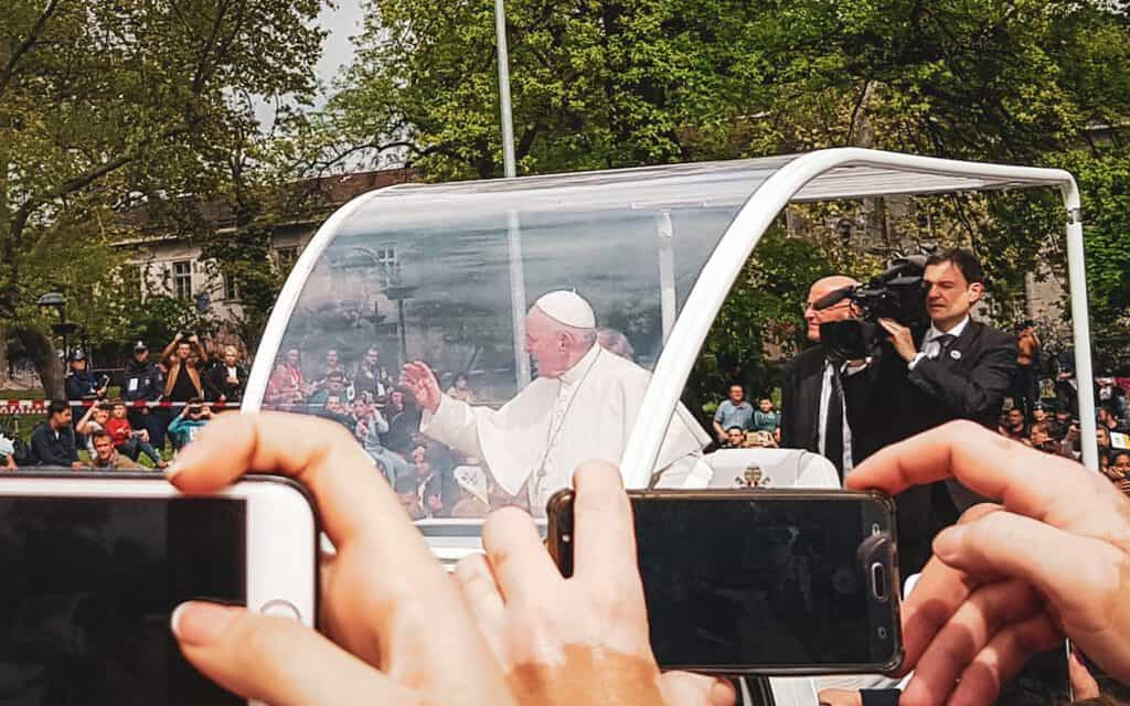 Photos from Pope Francis's Visit to Sofia