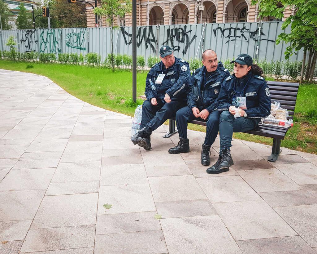 Bulgaria - Sofia - Pope Francis Visits Sofia, Bulgaria Security Police