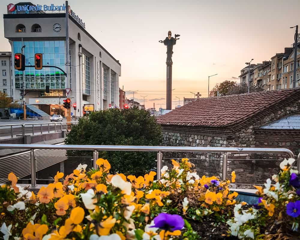 Bulgaria - Sofia - Saint Sofia Statue