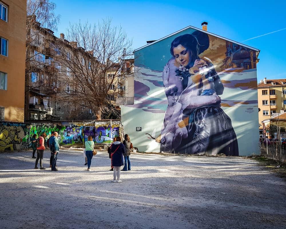 Bulgaria - Sofia - Graffiti Tour Street Art Tour