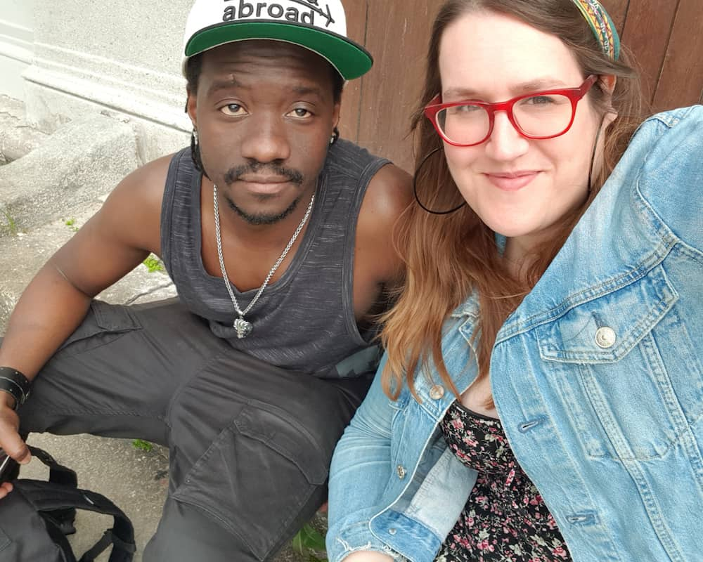 Bulgaria - Plovdiv - Bus Statein Selfie Stephanie and Valentine