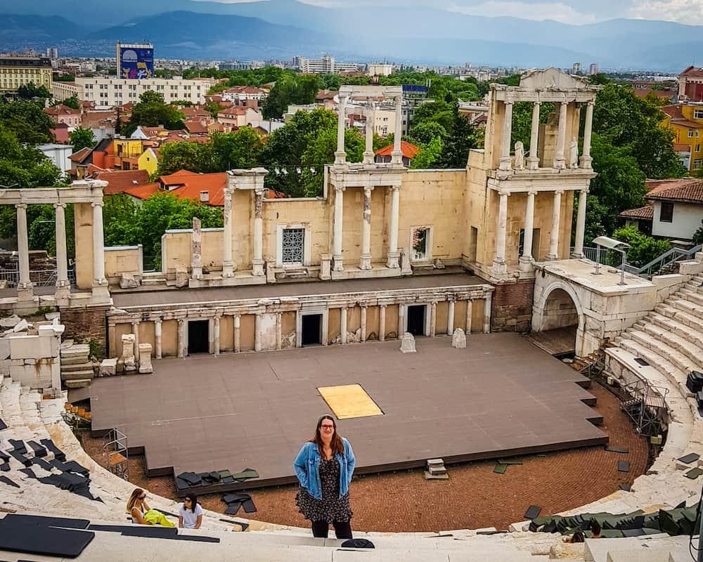 Bulgaria - Plovdiv - Roman Theater Stephanie