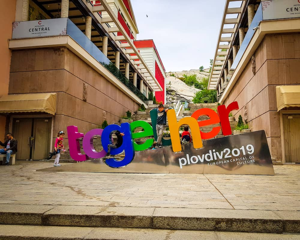 Bulgaria - Plovdiv - Together Monument