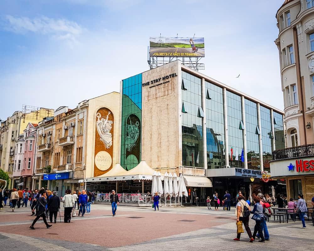 Bulgaria - Plovdiv - Stay Hotel Center of Plovdiv Mural