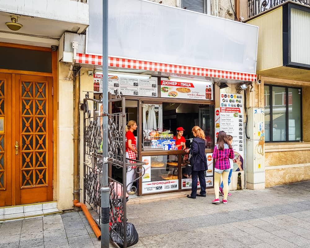Bulgaria - Plovdiv - Doner Kebab