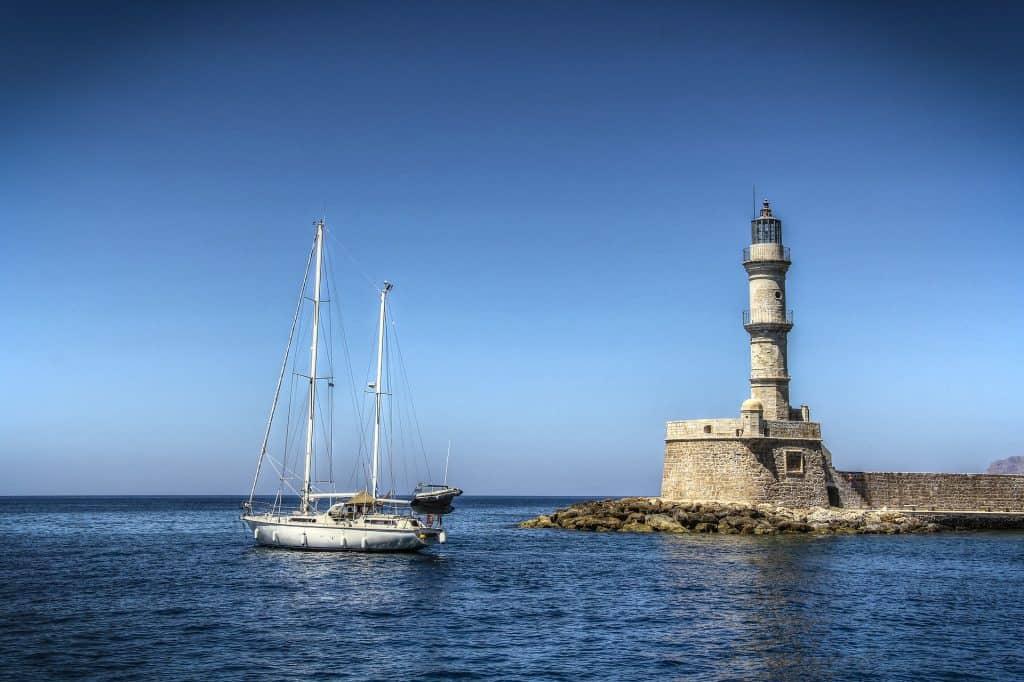 Greece - Crete - Chania - Lighthouse