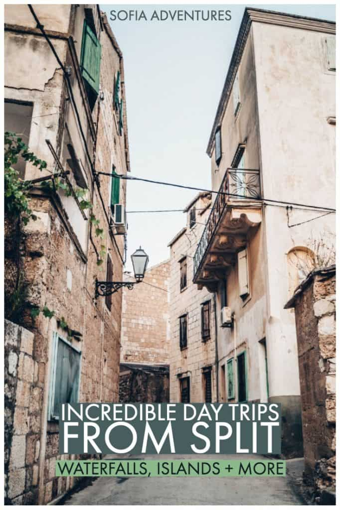 Going to visit Split, Croatia? Here are our favorite places to visit in Croatia near Split, the best Split day trips, and islands and national parks you can visit on a day trip from Split! Add these great destinations to your list of things to do in Split!