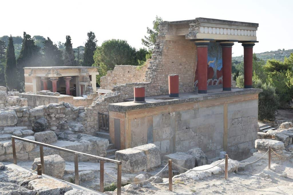Greece - Crete - Heraklion - Palace of Knossos